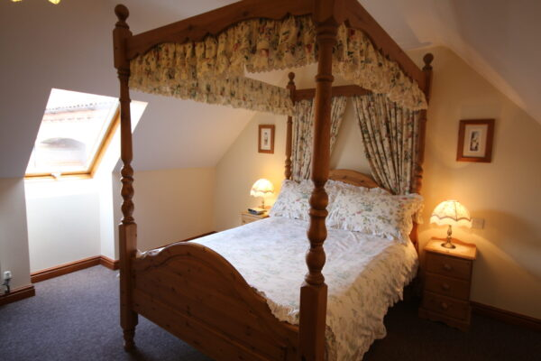 Archway Barn Four Poster Bedroom