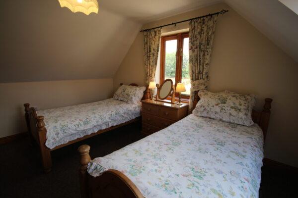 Archway Barn Twin Bedroom
