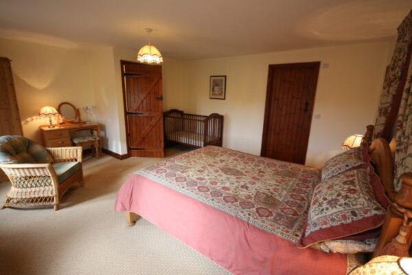Purlin Barn Bedroom
