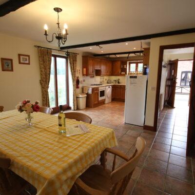 Purlin Barn Kitchen Diner